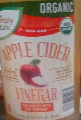 Organic apple cider vinegar - Product - en