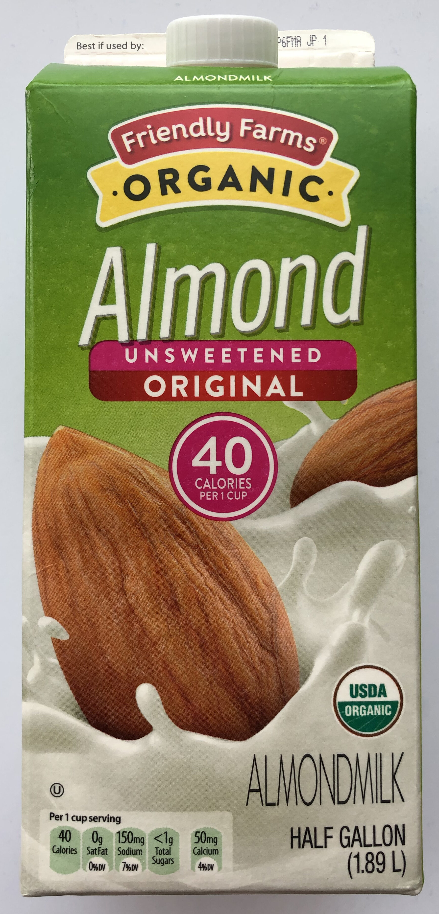 Organic Almond milk - Produit