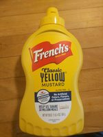 French's, classic yellow mustard - Product - en