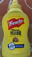 Classic yellow mustard - Produit - en