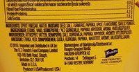 Classic yellow mustard - Ingrédients - fr