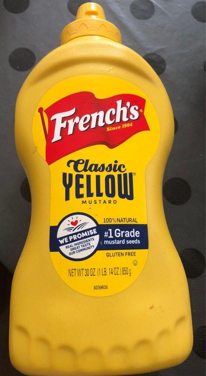 Classic yellow mustard - Produit - fr