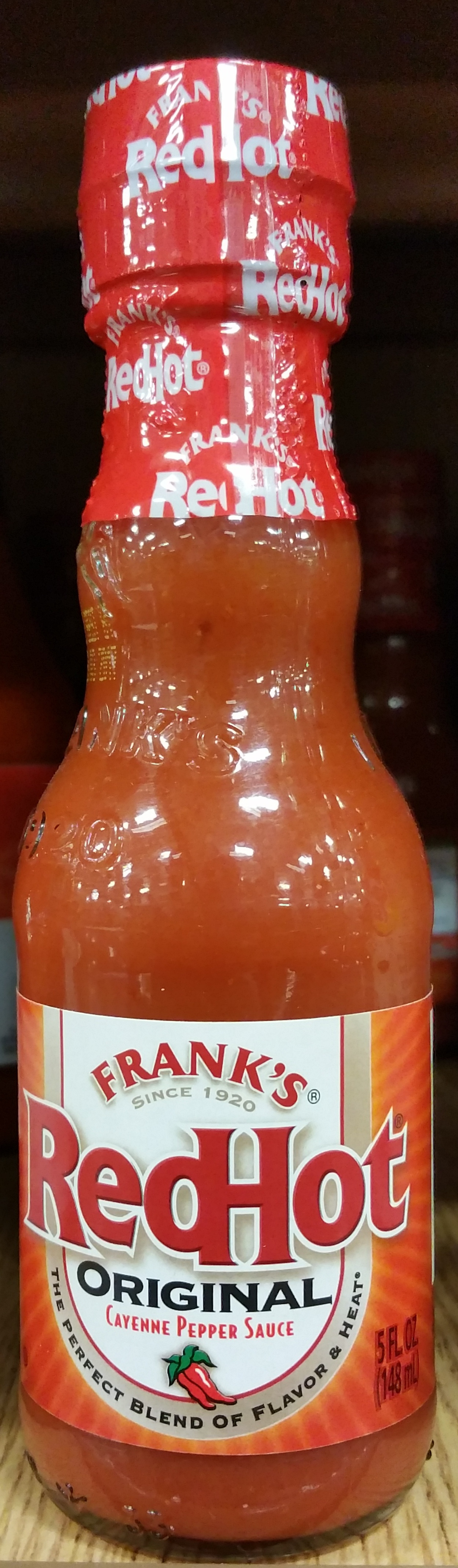 Sauce Cayenne Red Hot - Product