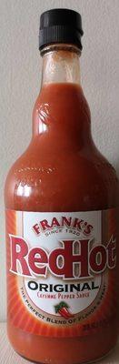 Original cayenne pepper sauce - Product