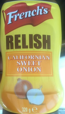 Relish Californian Sweet Onion - Produit