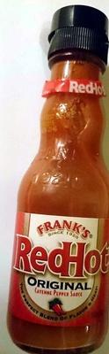 Red Hot Original Cayenne Pepper Sauce - Product - en