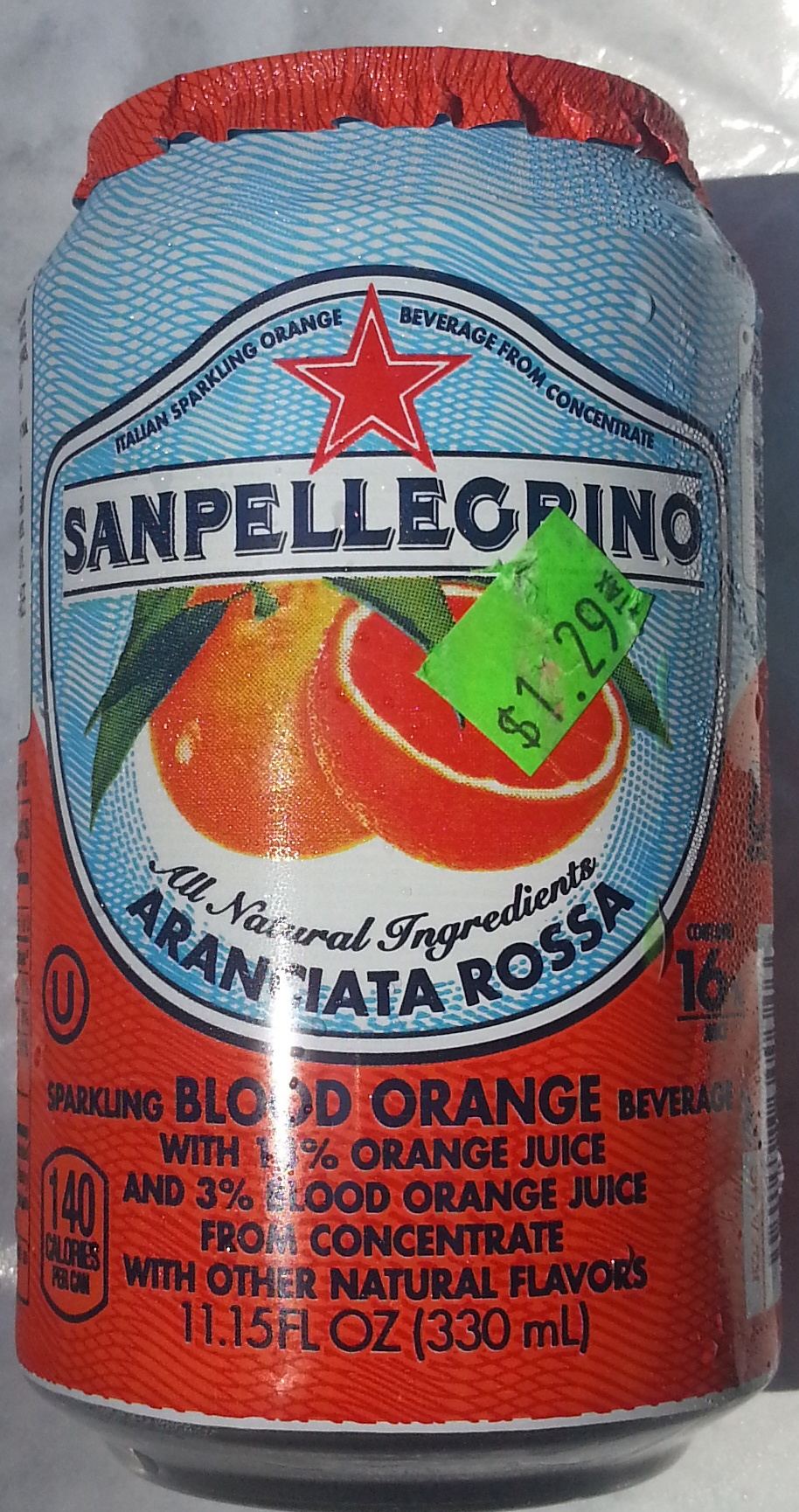 Aranciata Rossa - Product