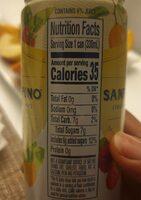 Momenti lemon & raspberry italian sparkling drinks - Nutrition facts - en
