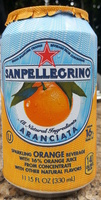 Italian sparkling orange beverage from concentrate - Product - en