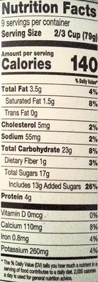 Slow Churned Rocky Road Ice Cream - Nutrition facts