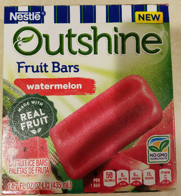 Fruit ice bars, watermelon - Produit - en