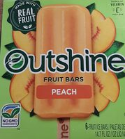 Fruit ice bars, peach - Prodotto - en