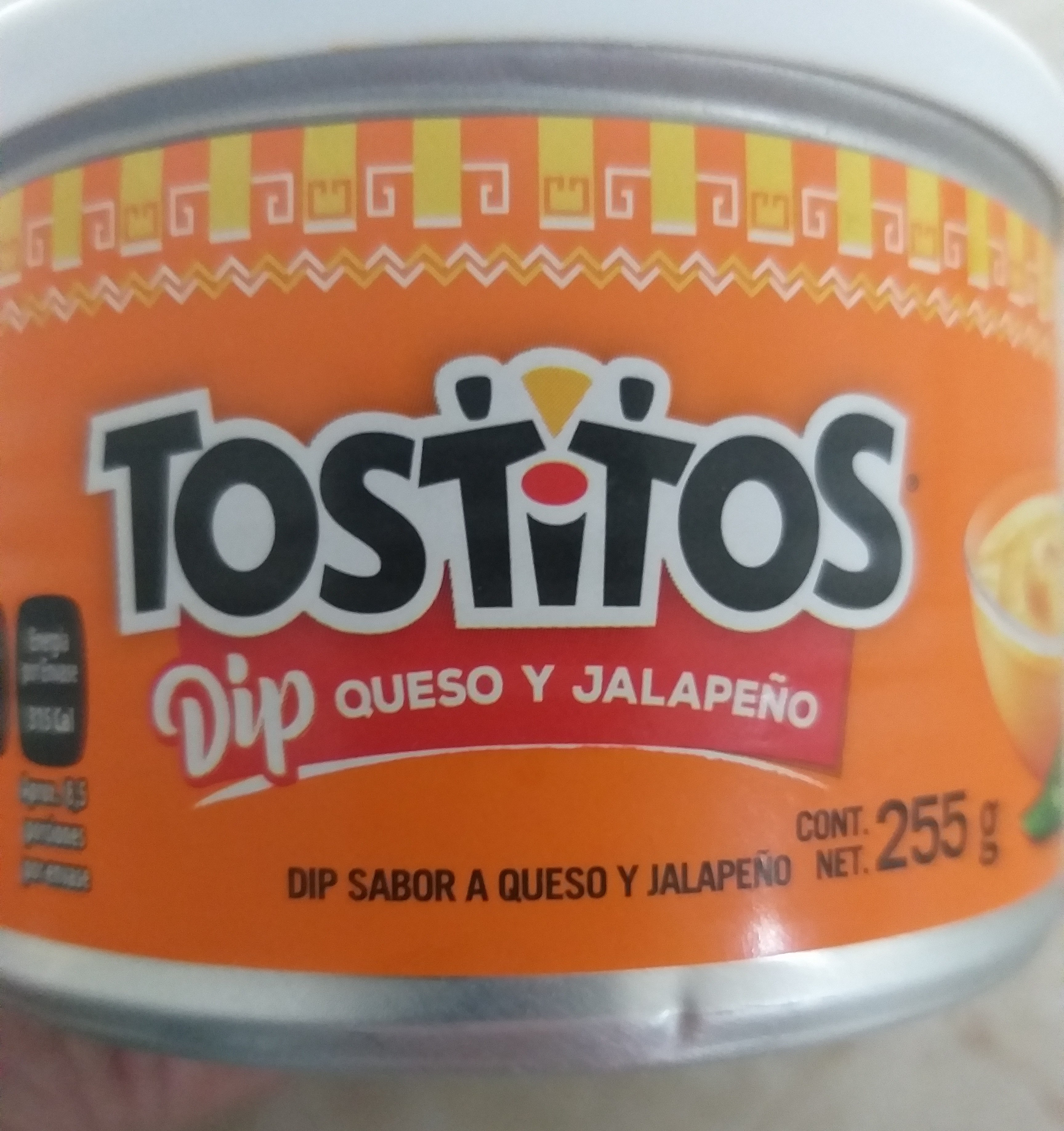 Pasteurized Process Cheese Food With Jalapenos, Queso Dip With Jalapenos - Product - en