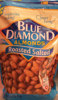 Roasted Salted Almonds - Product - en