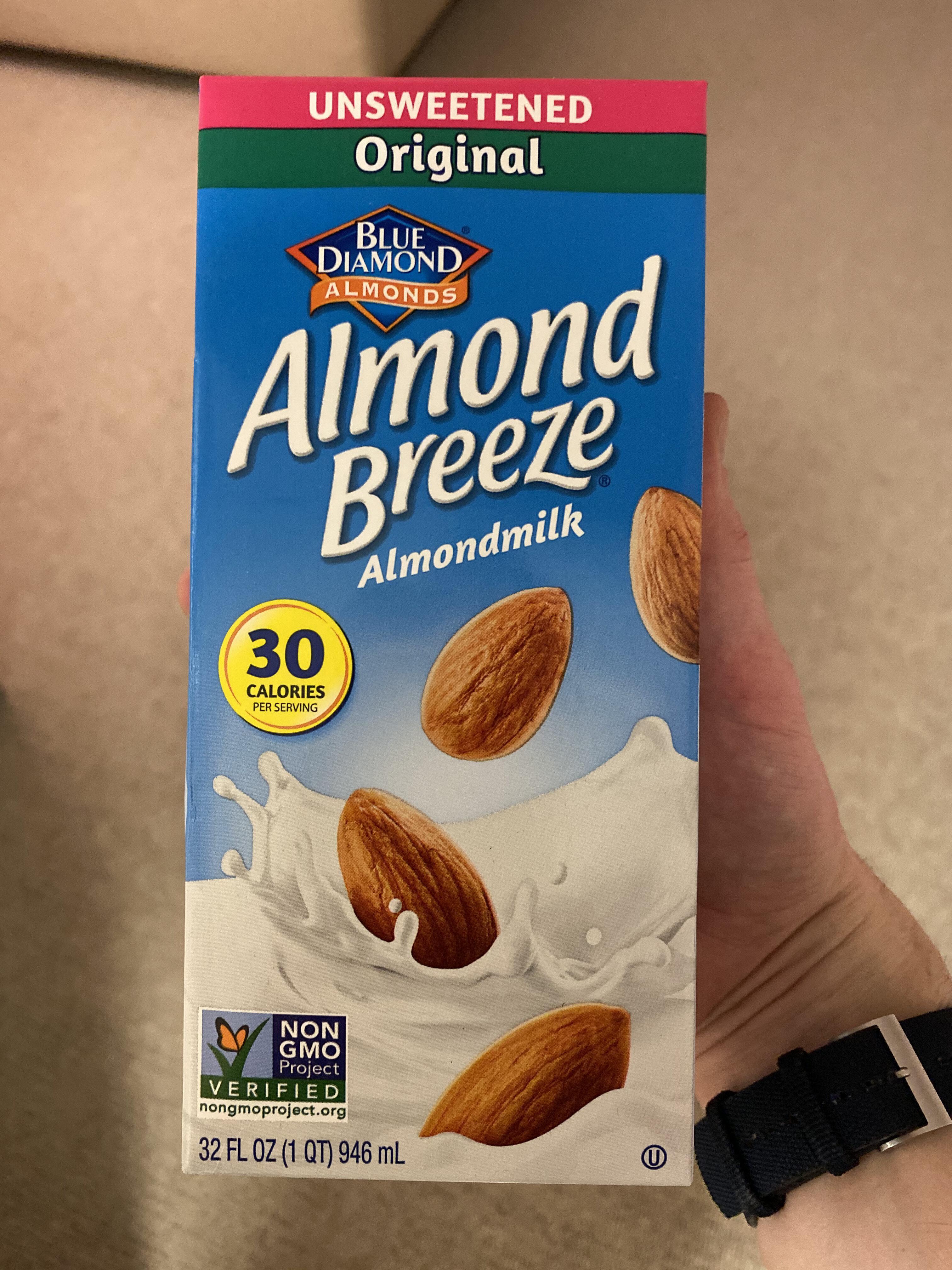 Unsweetened original almondmilk - Product - en