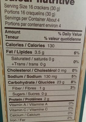 Nut-thins - Informations nutritionnelles - fr