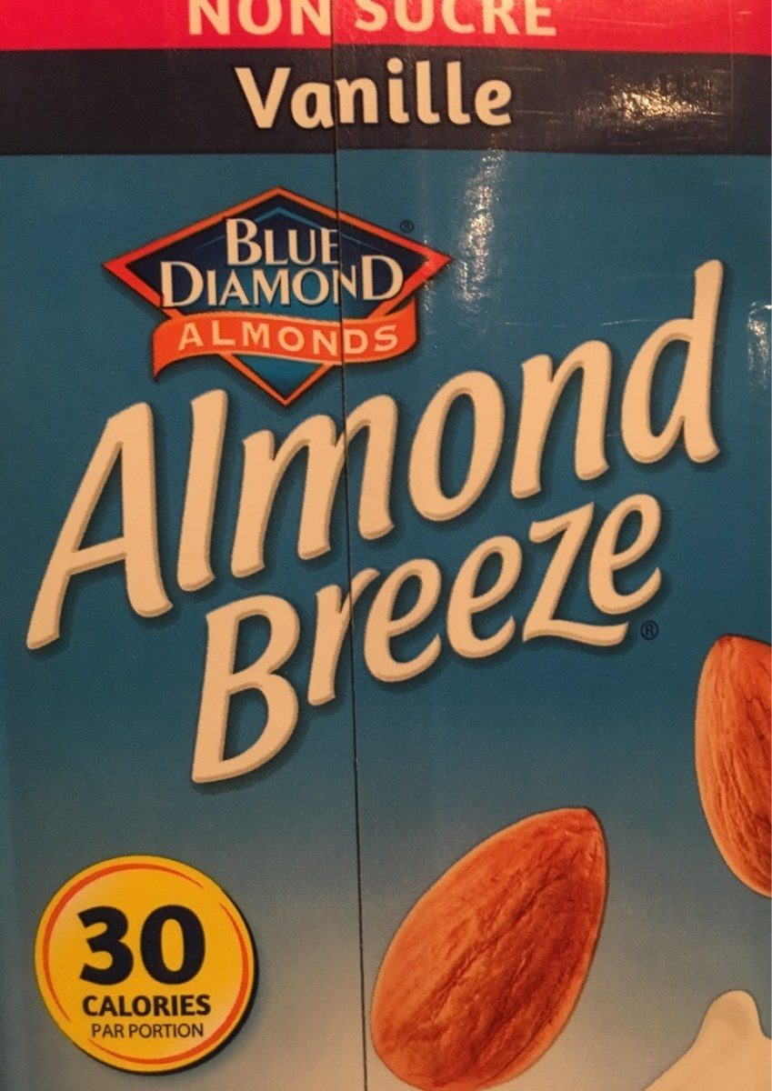Almond breeze vanillé non sucré - Produit - fr
