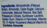 Almond Breeze, Almondmilk, Vanilla - Ingredients