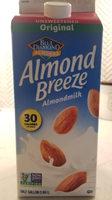 Unsweetened original almondmilk - Produit - fr