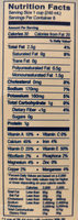 Almond Breeze, Almondmilk, Original - Nutrition facts