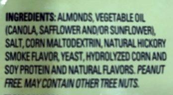 Almonds - Ingredientes - en