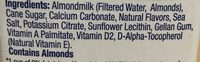 Almondmilk - Ingredients - en