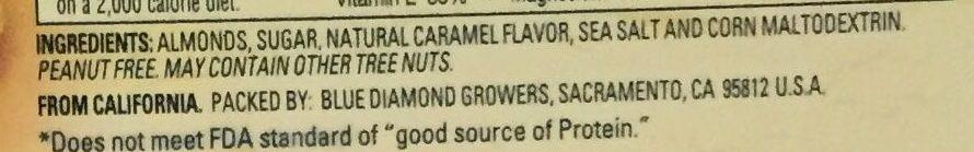 Almonds - Ingrédients - en