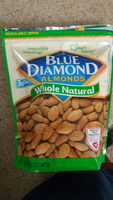 Whole Natural Almonds - Product