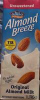 Blue diamond almond breeze almost milk original unsweetened - Product