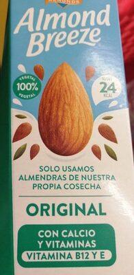 Almond breeze original - Product - es