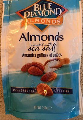 Amandes grillées salées Blue Diamond : calories et