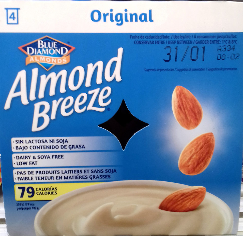 Almond Breeze Original - Producto - es
