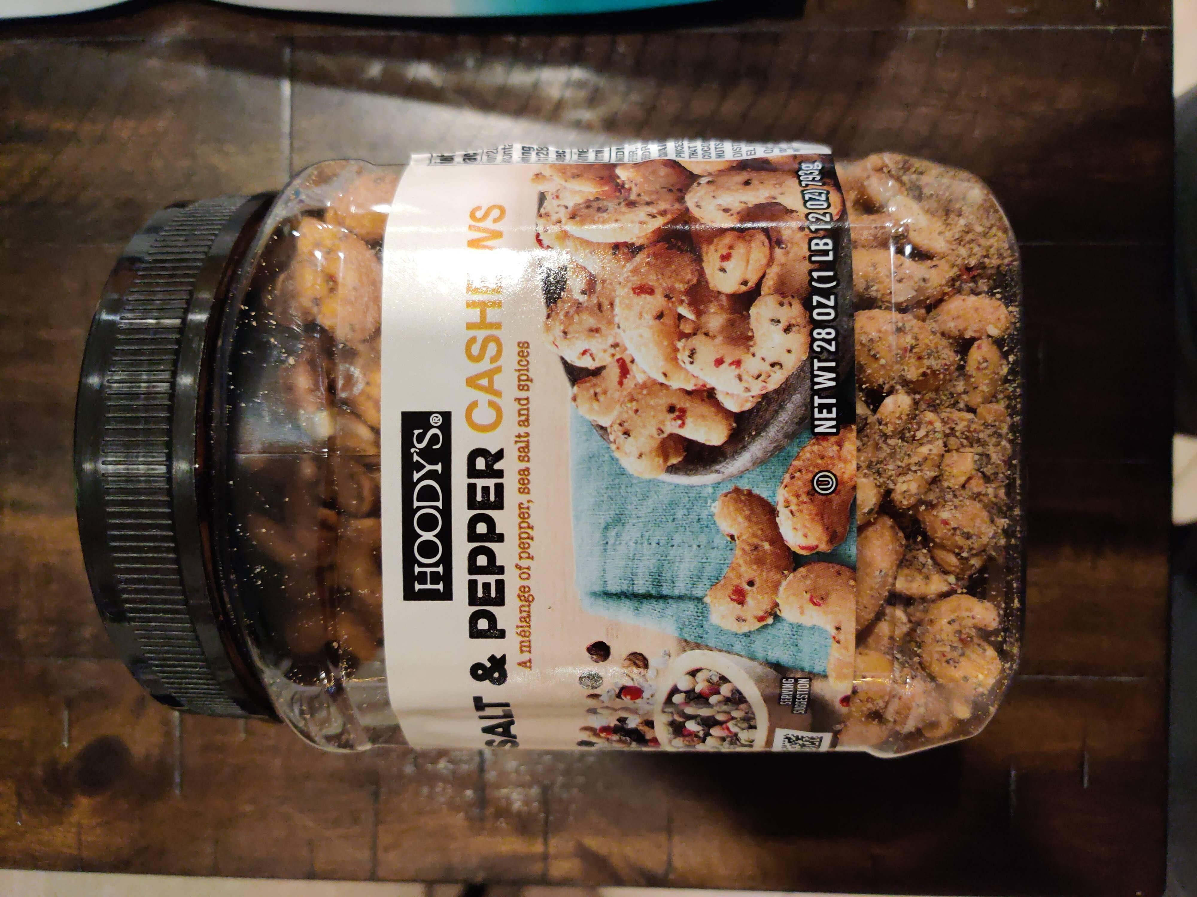 Hoody's Salt & Pepper Cashews - Produit - en