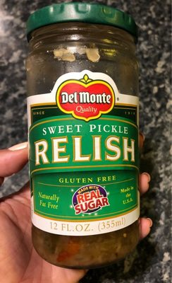 Del Monte Sweet Pickle Relish - Product