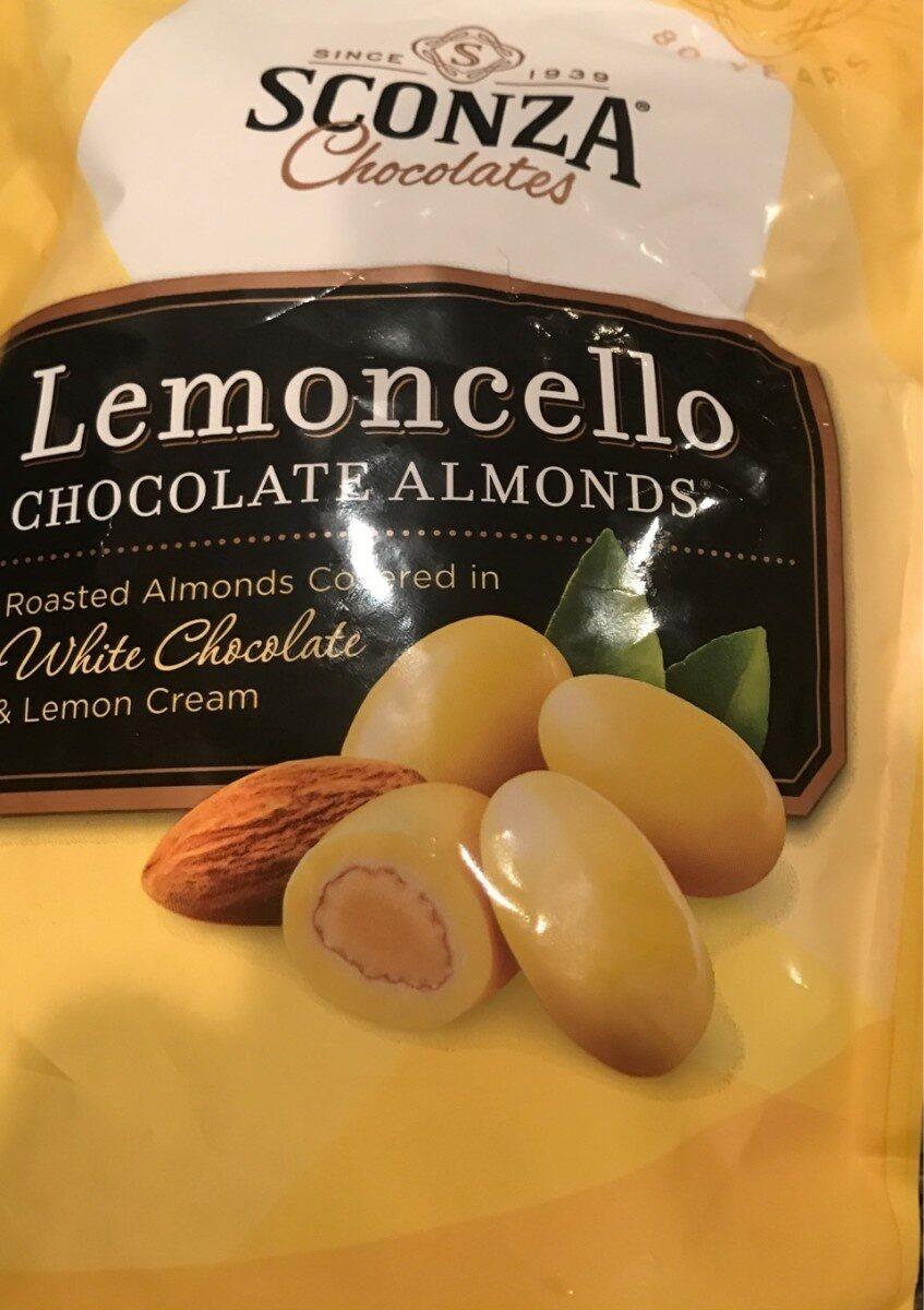 Lemoncello almonds - Product - en
