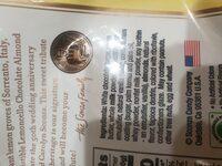 Lemoncello almonds - Ingredients - en