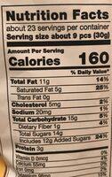 Lemoncello almonds - Nutrition facts - en