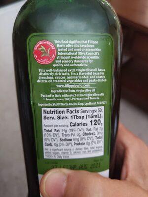 Extra virgin olive oil for dressing & marinating - Ingredients - en