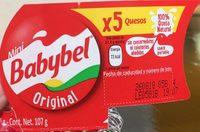 Mini Babybel x5 quesos - Product