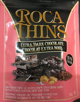 Roca Thins, Dark Chocolate With Toffee And Sea Salt - Product