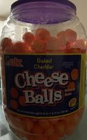 Baked cheddar cheese balls - Product - en