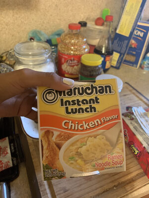 Instant Lunch, Ramen Noodles With Vegetables, Chicken - Product
