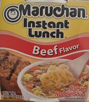 Instant Lunch, Ramen Noodles With Vegetables, Beef - Product