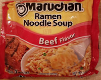 Ramen Noddle Soup, Beef - Product