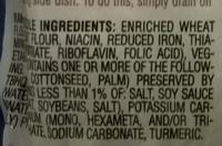 Maruchan Ramen noodle soup - Ingredienti - en