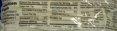 Maruchan Ramen noodle soup - Valori nutrizionali - en