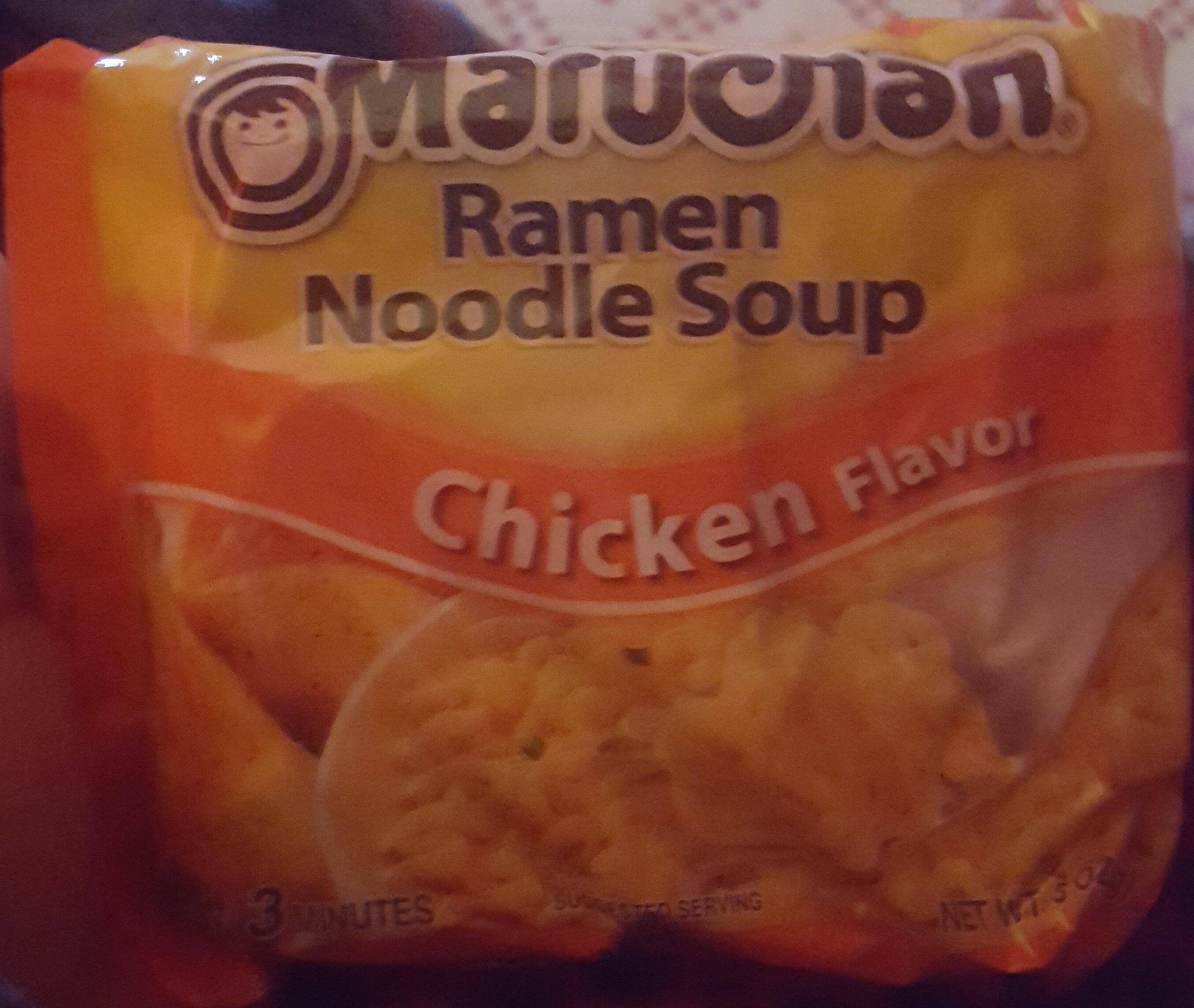 Ramen Noodle Soup, Chicken - Product