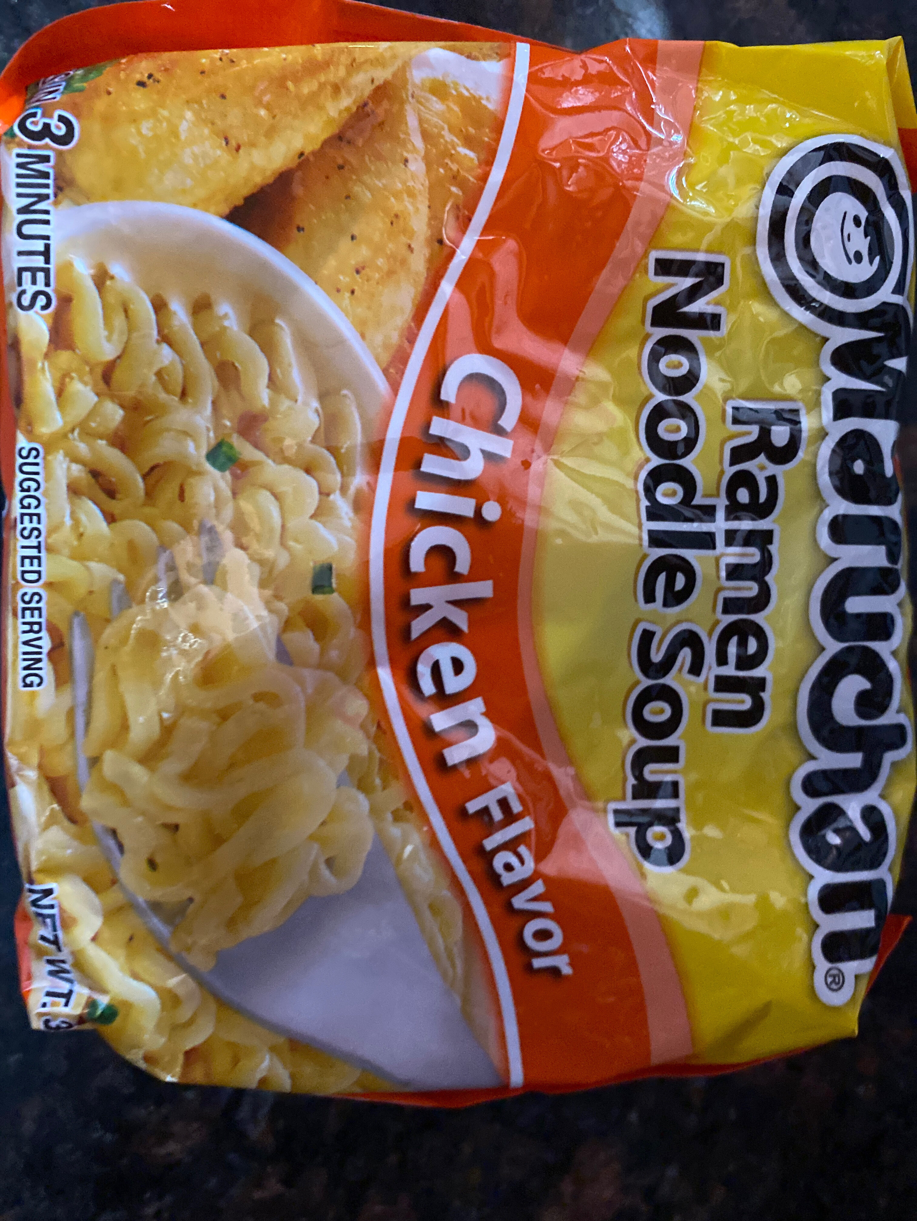 Ramen Noodle Soup, Chicken - Ingredients