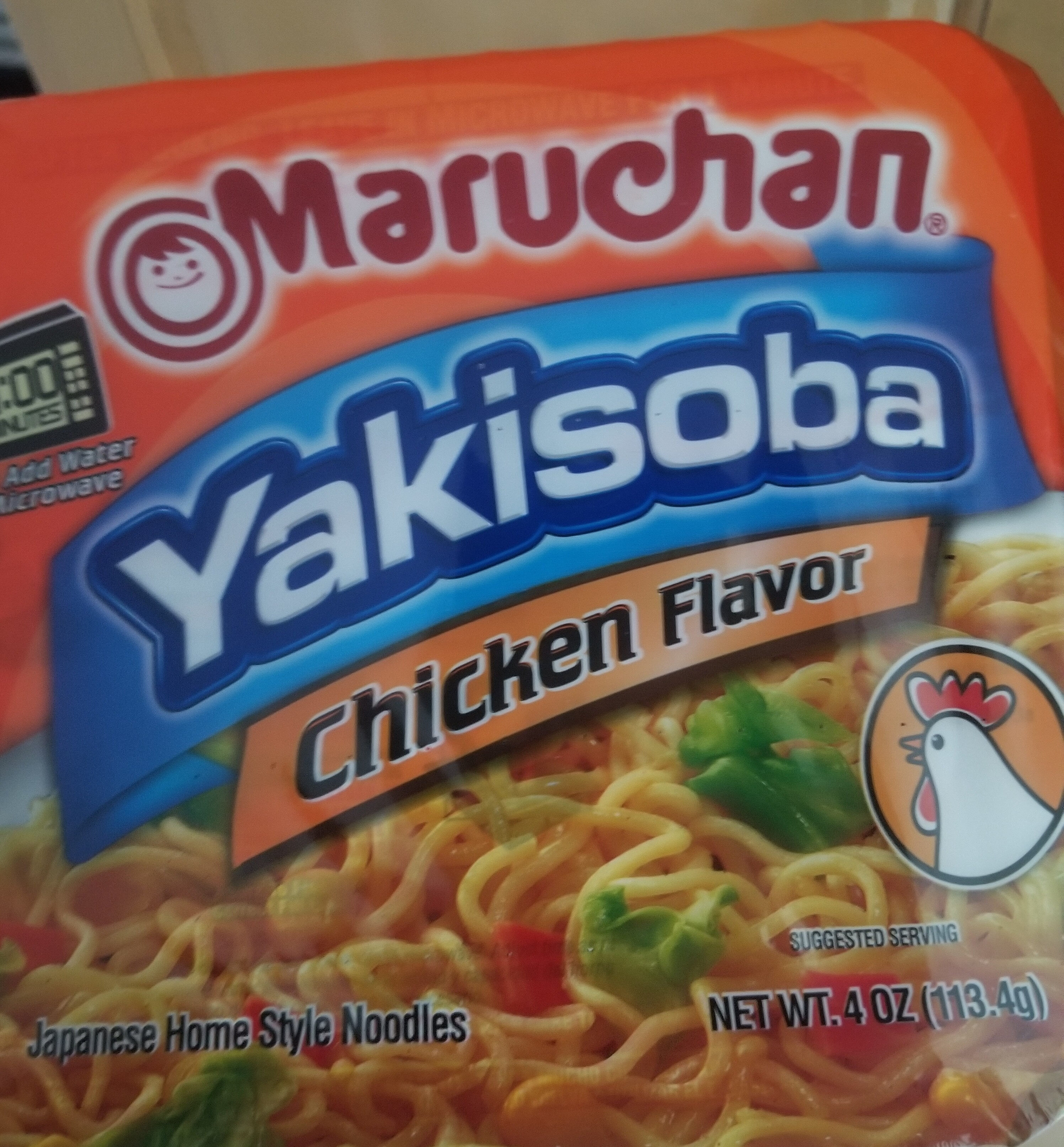 Yakisoba, Home-Style Japanese Noodles, Chicken - Product