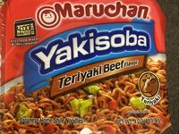 Yakisoba, Home-Style Japanese Noodles, Teriyaki Beef - Product